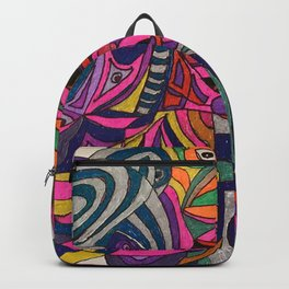 """""""The Eyes Are Looking."""" Backpack"""