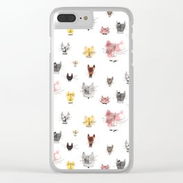 Give me all the Kitties! Clear iPhone Case
