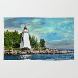 Tobermory Lighthouse Rug