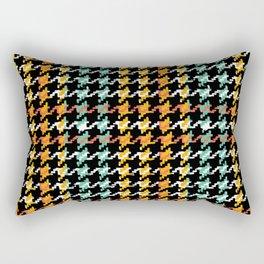 Pied-de-poule Rectangular Pillow