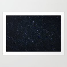 you know your place in the sky Art Print