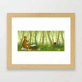 Bigfoot Busted Framed Art Print