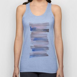 Blue Watercolor Background | Frozen Summer Series 171 Unisex Tank Top