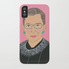 Ruth Bader Ginsberg iPhone Case