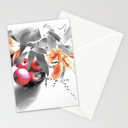 apples and lilies Stationery Cards