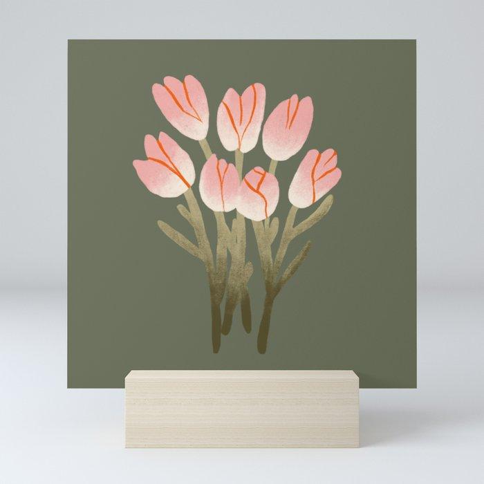 Tulip Drawing Mini Art Print