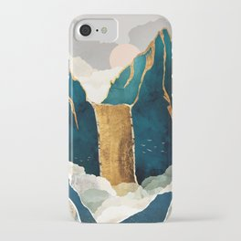 Golden Waterfall iPhone Case