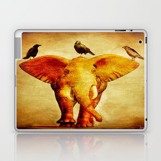 Perch of ravens Laptop & iPad Skin