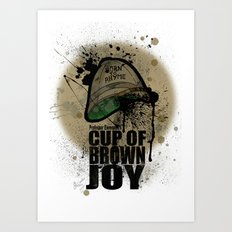 cup of brown joy Art Print