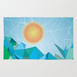 Landscape - geomertic work Rug