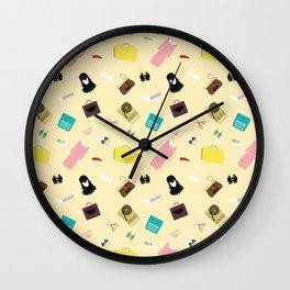 Moonrise Kingdom's Suzy Bishop Pattern Wall Clock