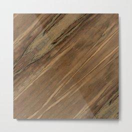 Etimoe Crema Wood Metal Print