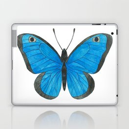 Morpho Butterfly Illustration Laptop & iPad Skin
