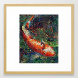 Volunteer Park Koi #8 Framed Art Print