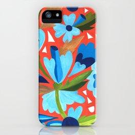 Floral Folk  iPhone Case