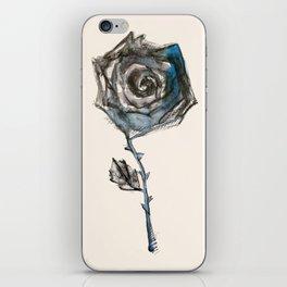 Royal Blue Rose iPhone Skin