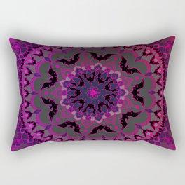Night Sky Mandala  Rectangular Pillow