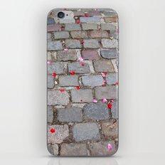 Rose Petals, Parc de Belleville, Paris iPhone & iPod Skin