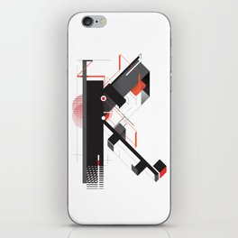 Abstract K iPhone Skin