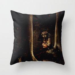 Pixie Dust Never Lies Throw Pillow