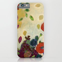 The Unexpected Poppies iPhone Case