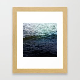 West Lake Waves Framed Art Print