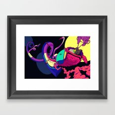 Strapped Framed Art Print