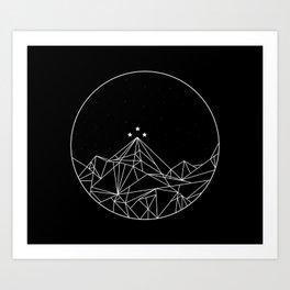 The Night Court Symbol Art Print