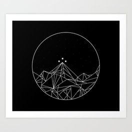 The Night Court Symbol Art Print