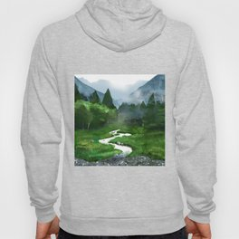 Forest River Illustration  Hoody