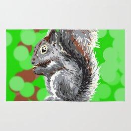 Squirrel Rug
