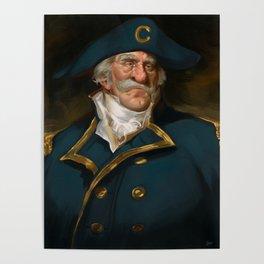 Oh Captain, My Captain (Captain Crunch) Poster