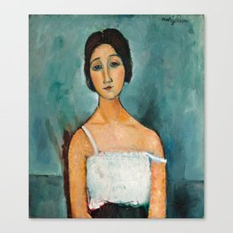 Christina by Amedeo Modigliani, 1916 Canvas Print