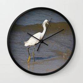 Crazy on the Coast Wall Clock