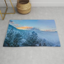 Frosted Mountains Rug