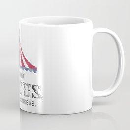Not my circus, not my monkeys v2 Coffee Mug