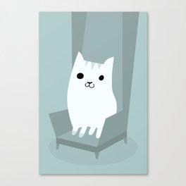 Gentleman Cat Canvas Print