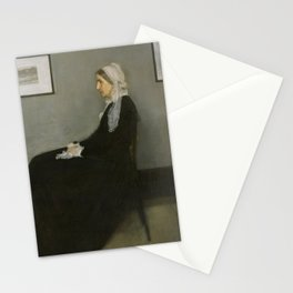 Whistler's Mother Stationery Cards