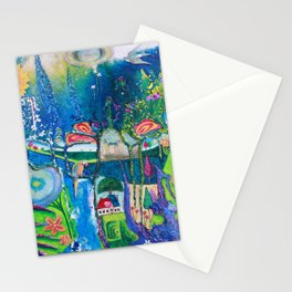 Traveling Into Infinity Stationery Cards