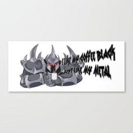 I hate Mond'hues' Canvas Print