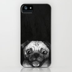 Snuggle pug Slim Case iPhone SE
