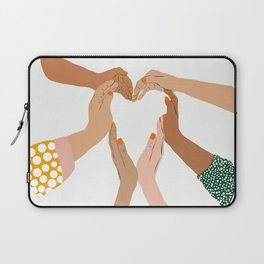 Indescrimination #illustration #concept Laptop Sleeve