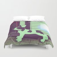 puppy Duvet Covers featuring Puppy by Karolis Butenas
