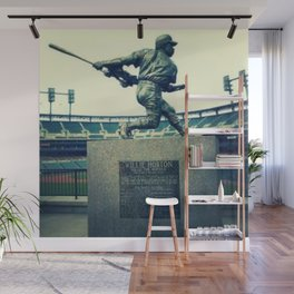 Swing for the Fences! Wall Mural