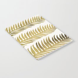 Golden Seaweed Notebook