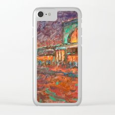 nighlights Clear iPhone Case