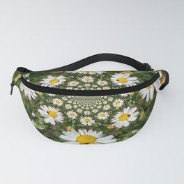 Magic Field Summer Grass - Chamomile Flower with Bug - Polarity #1 Fanny Pack
