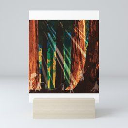 Ghosts in Sequoia Forest Mini Art Print