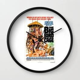 The Big Bird Cage Wall Clock