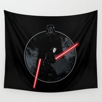 sith Wall Tapestries featuring Sith Uprising by Steven Toang